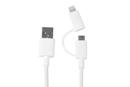 Cable USB A 2.0 a Micro USB + iPhone adaptador 0,5m