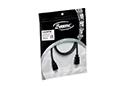 Cable HDMI V1.4 alta velocidad fichas oro 1m