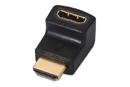 Adaptador HDMI macho/hembra V1.4 Codo 90